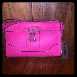 Guess Pink Purse NWT